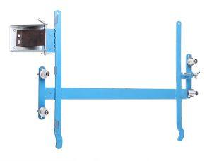 Станок для натяжки проволоки в рамки из металла