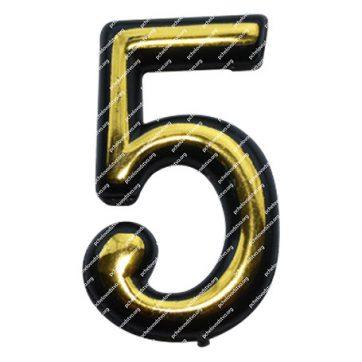 Цифра для улья пластмассовая «5»