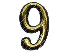 Цифра для улья пластмассовая «9»