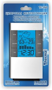 Цифровая домашняя метеостанция ТЕ-260