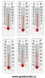 Термометр рекламный