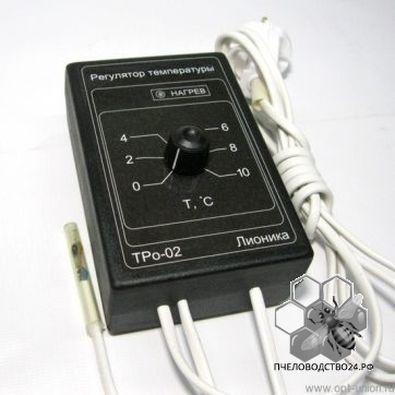 Терморегулятор электронный ТРо- 02 Р для погреба, овощехранилища, омшаника,инкубатора фото