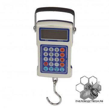 Весы для пасеки электронные подвесные с автоматическим расчетом стоимости до 50 кг
