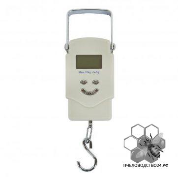 Весы для пасеки электронные подвесные с металлической ручкой до 10 кг