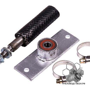 ЗИП к к электроприводу 00889 - переходник с планкой и подшипником с двумя хомутами