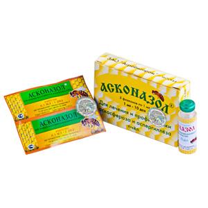 Препараты против аскосфероза и аспергиллеза