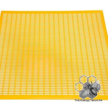 решётка разделительная из желтой пластмасы